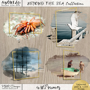 Beyond the Sea {Out of the Box artFrames}