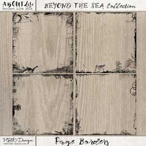 Beyond the Sea {Page-Borders}