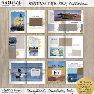 Beyond the Sea {Storybook Mini Album July 2016}