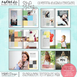 She {Storybook Mini Album}