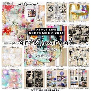 art & journal {All together Mega Bundle September 2016}