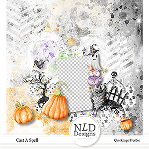 Cast A Spell Quickpage Freebie