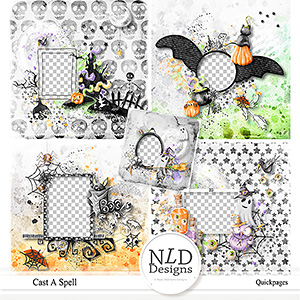 Cast A Spell Quickpages