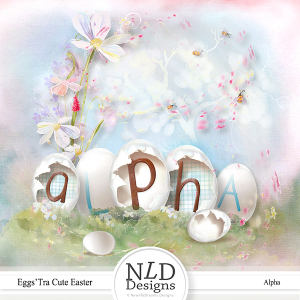 Eggs'tra Cute Easter Alpha