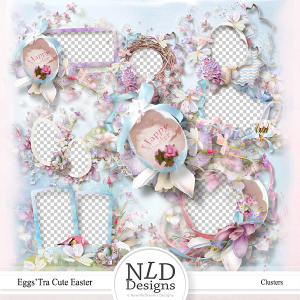 Eggs'tra Cute Easter Clusters