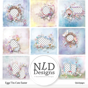 Eggs'tra Cute Easter Quick Pages