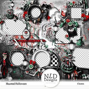 Haunted Halloween Clusters