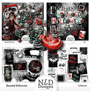 Haunted Halloween Collection & Gift