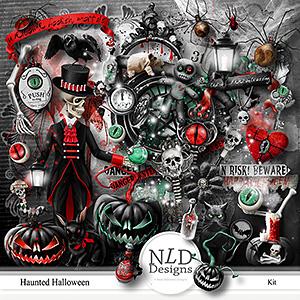 Haunted Halloween Kit & Gift