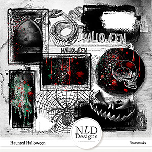 Haunted Halloween Photomasks
