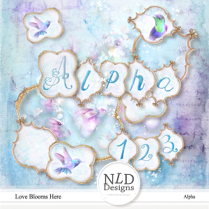 Love Blooms Here Alpha