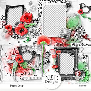 Poppy Love Clusters