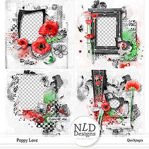Poppy Love Quickpages