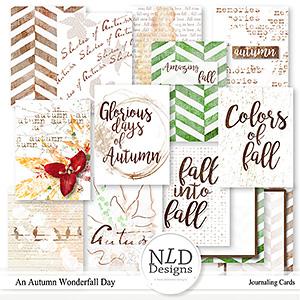 An Autumn WonderFall Day Cards