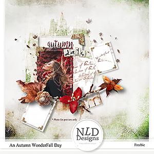 An Autumn WonderFall Day Freebie