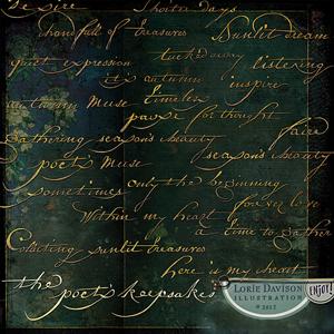The Poet's Keepsakes Wordart