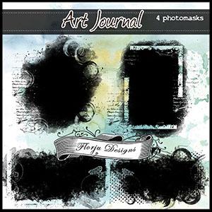Art Journal { Photomasks PU } by Florju Designs
