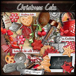 Christmas Cake { Full Kit } by Florju Designs