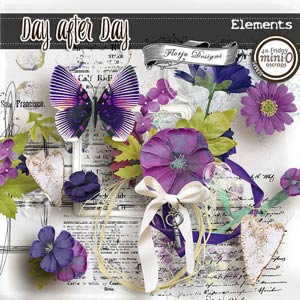 Day After Day { Elements PU } by Florju Designs