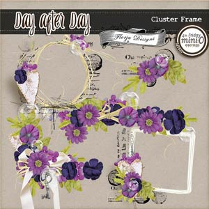 Day After Day { Clusterframes PU } by Florju Designs