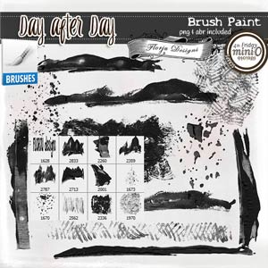 Day After Day { Paint Brush PU } by Florju Designs