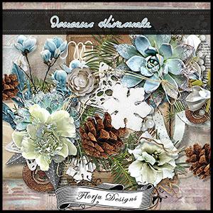 Douceur Hivernale {Kit PU } by Florju Designs