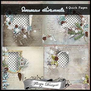 Douceur Hivernale { Album PU } by Florju Designs
