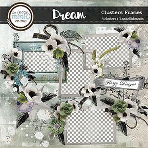 Dream { Clusters Frames PU } Florju Designs
