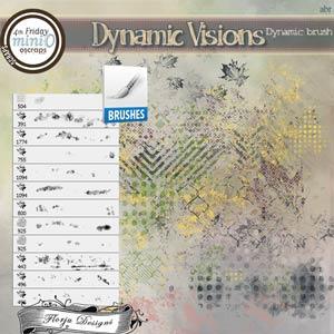 Dynamic Visions { Dynamic Brush PU } by Florju Designs