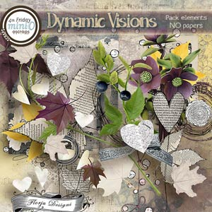 Dynamic Visions { Pack Elements PU } by Florju Designs