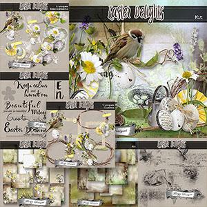 Easter Delights { Bundle PU } by Florju Designs