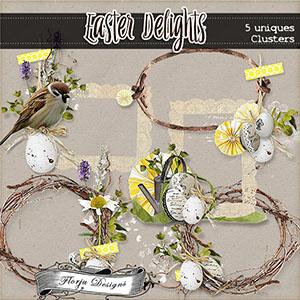 Easter Delights { Clusters PU } Florju Designs