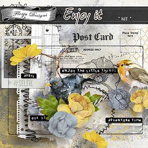 Enjoy It { Kit PU } by Florju Designs