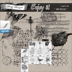 Enjoy It { Mix Brush PU } by Florju Designs