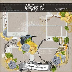 Enjoy It { Clusters PU } by Florju Designs