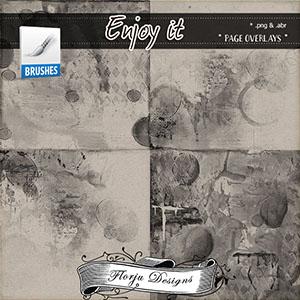 Enjoy It { Page Overlay PU } by Florju Designs