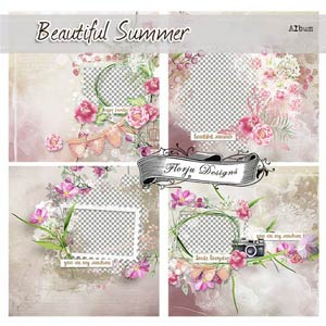 Beautiful Summer [ ALBUM PU ] by Florju Designs