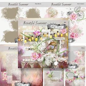 Beautiful Summer [ BUNDLE PU ] by Florju Designs