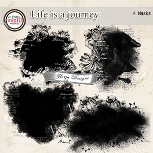 Life is a journey [ Masks PU ] by Florju Designs