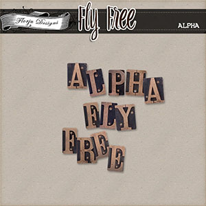 Fly Free { Alpha PU } by Florju Designs
