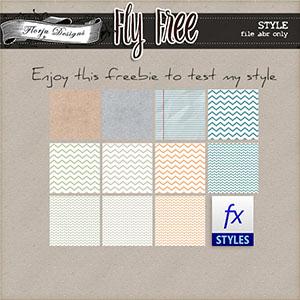 Fly Free { Style FREEBIE PU } by Florju Designs