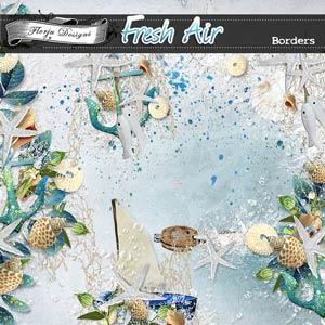 Fresh Air { Borders PU } by Florju Designs