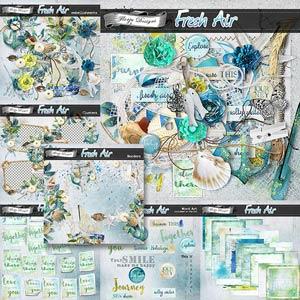 Fresh Air { Bundle PU } by Florju Designs