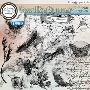 Goodbye Summer { Mix Brush PU } by Florju Designs