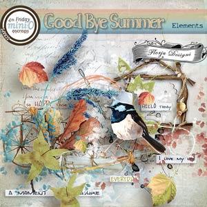 Goodbye Summer { Elements PU } by Florju Designs