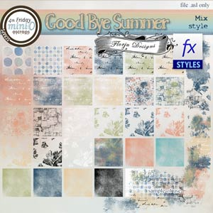 Goodbye Summer { Style PU } by Florju Designs