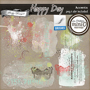 Happy Day { Accents PU } by Florju Designs