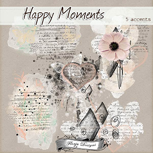 Happy Moments { Accents PU } by Florju Designs