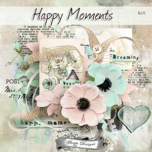 Happy Moments { Kit PU } by Florju Designs