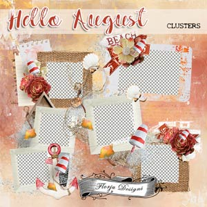 Hello August {Cluster PU} by Florju Designs
